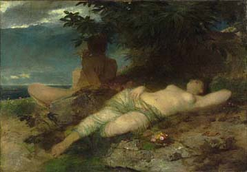 Nymph and Satyr, 1871