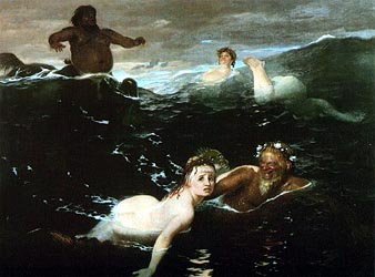 Playing in the Waves, 1880-83