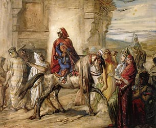 Arab Horsemen Leaving for the Fantasia, 1847