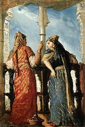 Jewish Women on a Balcony, 1849