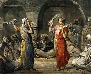 Moorish Dancers, 1849