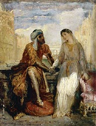 Othello and Desdemona in Venice, 1949