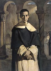 Portrait of the Reverend Father Dominique Lacordaire, of the Order of the Predicant Froars, 1840