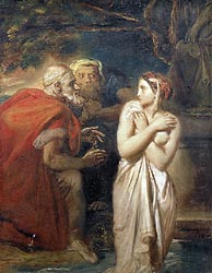 Susanna and the Elders, 1856
