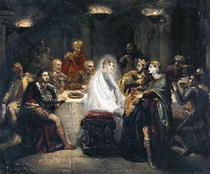 The Ghost of Banquo, 1854