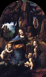 Madonna of the Rocks, 1491