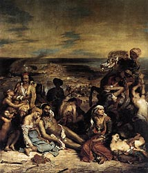 The Massacre at Chios, 1824