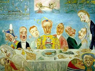 Banquet of the Starved, c1915