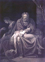 Ugolino and his Sons Starving to Death in the Tower, 1806