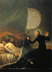 St Francis Borja at the Deathbed of an Impenitent, 1788