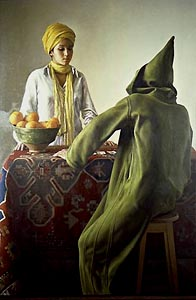Fortune Teller (1981) by Claudio Bravo