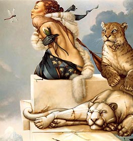Deva (1988) by Michael Parkes