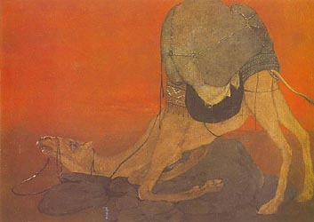 The Journey's End - by Abanindranath Tagore