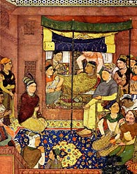 Birth of a Prince - Jahangir Nama (detail)