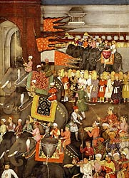 The Wedding Procession of Prince Dara Shikoh - Padshahnama