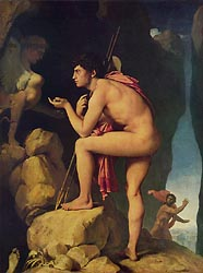 Oedipus and the Sphinx, c1808