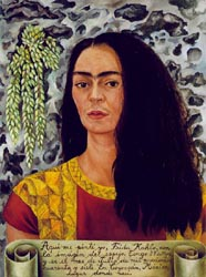 Self Portrait with Loose Hair 1947