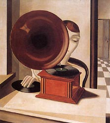 Woman with a Gramophone, 1928
