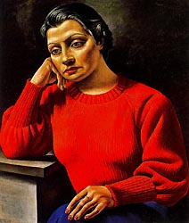 The Woman of the Red Sweater, 1935 by Antonio Berni