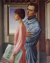 Portrait of the Artist and his Wife (The Double Portrait), 1920