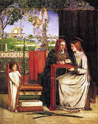 The Girlhood of Mary Virgin, 1849