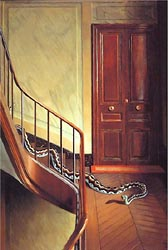 Danger on the Stairs, 1927-28 by Pierre Roy