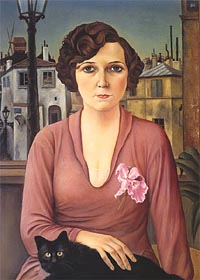 Marcella 1926 by Christian Schad