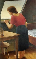 Girl at the Window, 1925