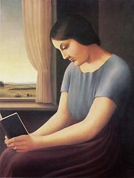 Woman Reading at the Window, 1925