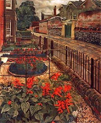 Gardens in the Ound, Cookham 1936