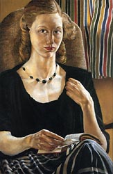 Portrait of Daphne Spencer 1951