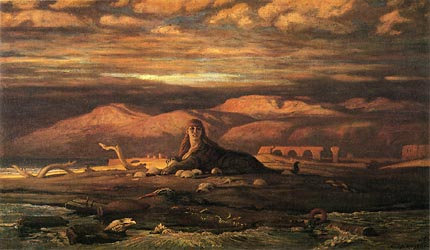 The Sphinx of the Seashore, 1879