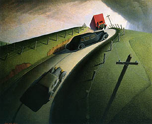 Death on the Ridge Road 1935