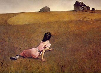 Christina's World by Andrew Wyeth (1948) - Magic Realism